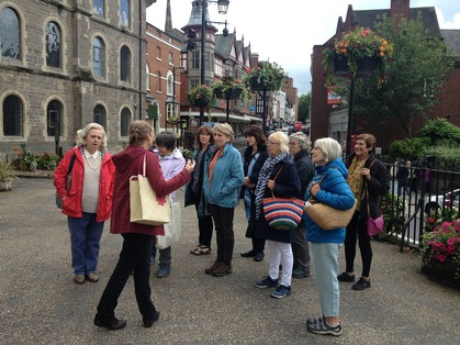 Our August meeting was a fascinating guided tour of Shrewsbury